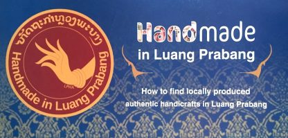ručně tkaná taštička z Laosu z oblasti Luang Prabang