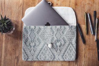 ručně tkaná taška Meadows 11″ z bavlněné příze