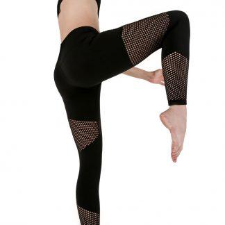 Yoga Design Lab jógové legíny Katie z tkaniny odvádějící vlhkost