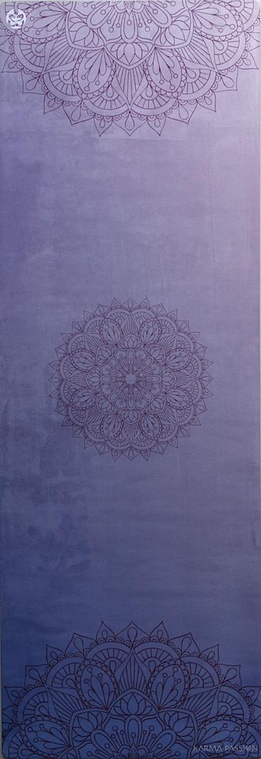 protiskluzová jógová podložka Mandala Pink