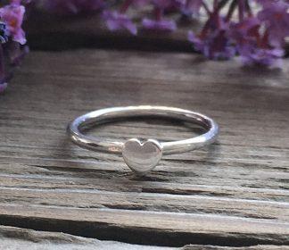 stříbrný prstýnek Sweat Heart ze stříbra o ryzosti Ag925