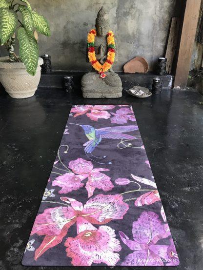 protiskluzová jógová podložka Japanese Garden s budhou