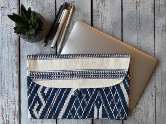 ručně tkaná taška Midnight 12″ z Laosu