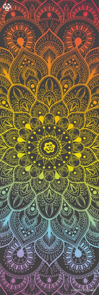 protiskluzová jógová podložka Chakra Sounds