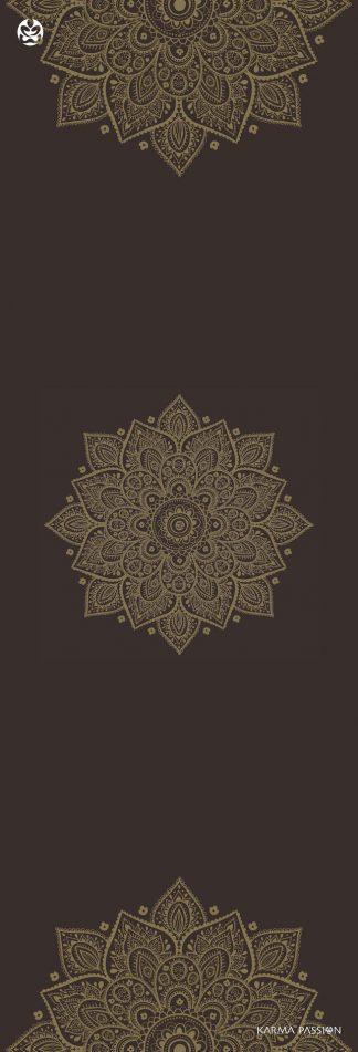 protiskluzová jógová podložka Mandala Gold
