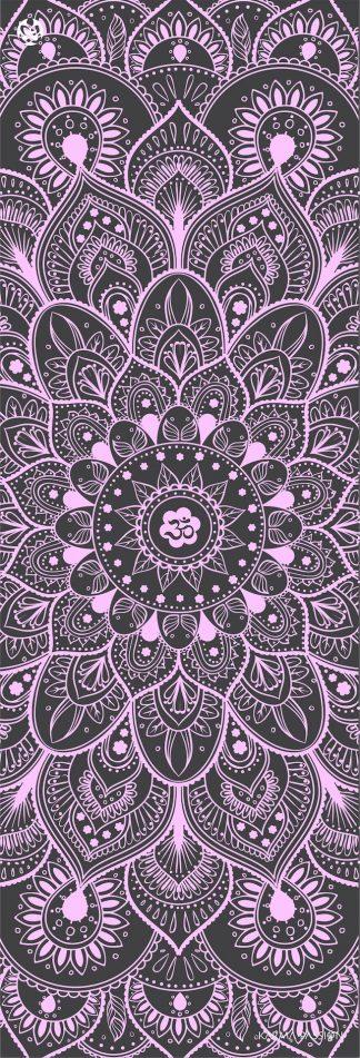protiskluzová jógová podložka Mandala Grey
