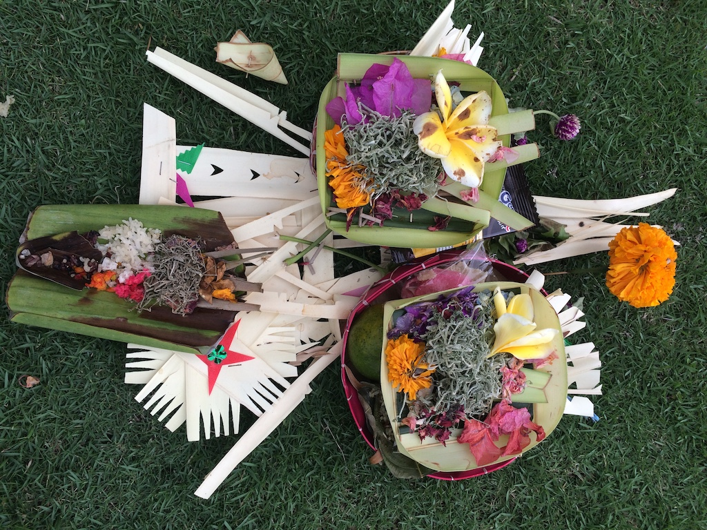 Bali - tradiční obětinky