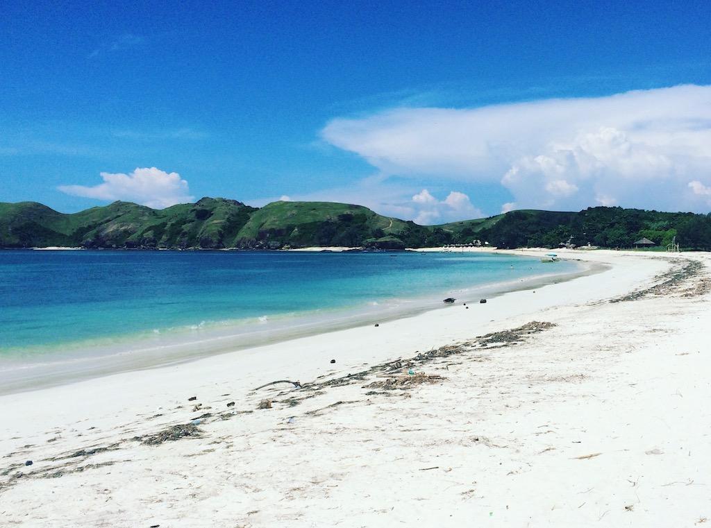 Bali - písečná pláž