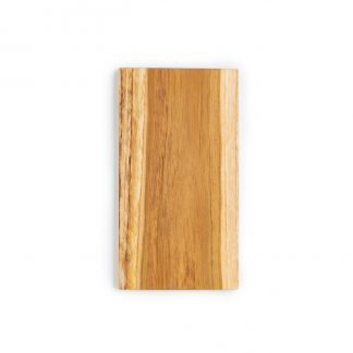 přírodní prkénko z teakového dřeva