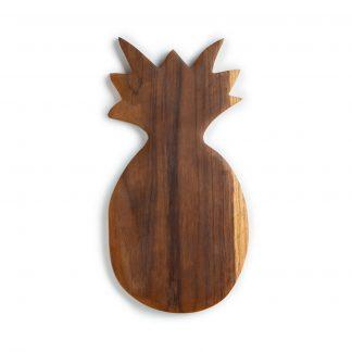 přírodní prkénko z teakového dřeva Ananas