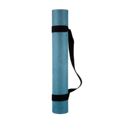 protiskluzová jógová podložka Green Bay 3,5 mm s popruhem
