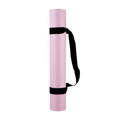 protiskluzová jógová podložka Marshmallow Pinky 3,5 mm s popruhem
