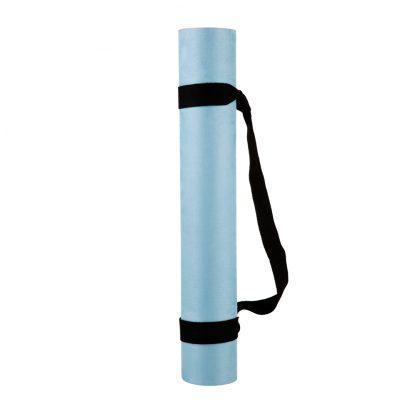 protiskluzová jógová podložka Blue Sky 3,5 mm s popruhem