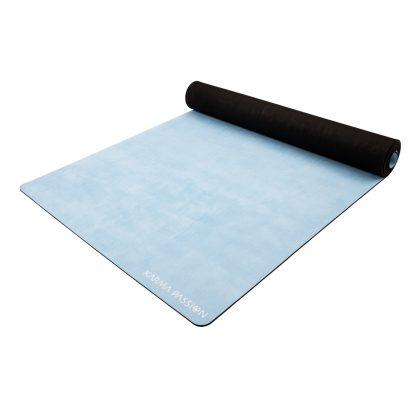 protiskluzová jógová podložka Marshmallow Blue Sky 3,5 mm detail