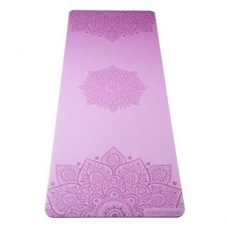 profesionální ultra protiskluzová jógová podložka Mandala Lilac