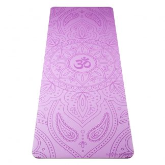 profesionální ultra protiskluzová jógová podložka OHM Lilac
