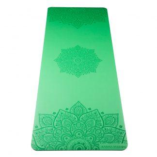 profesionální ultra protiskluzová jógová podložka Mandala Rice Fields