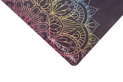 protiskluzová jógová podložka Mandala 7 Chakras logo