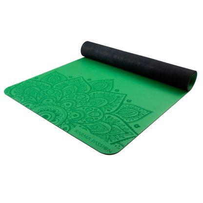 profesionální ultra protiskluzová jógová podložka Mandala Rice Fields 4 mm detail